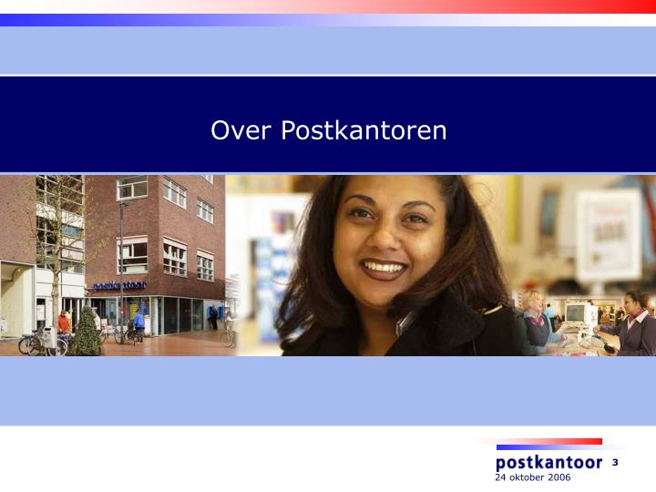 Over Postkantoren