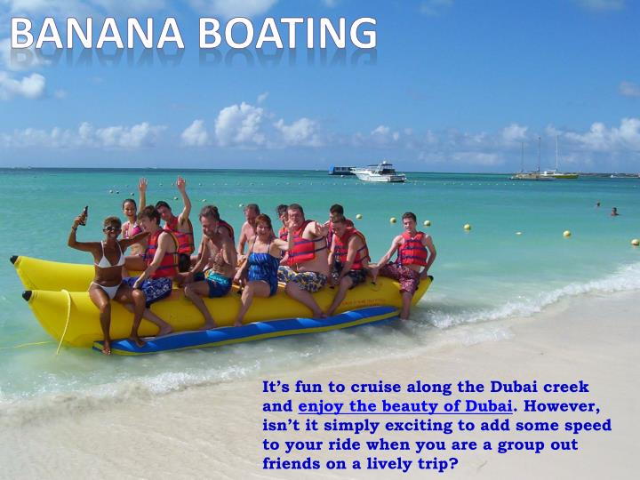 Banana Boating