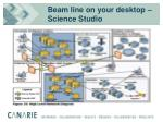 beam line on your desktop science studio