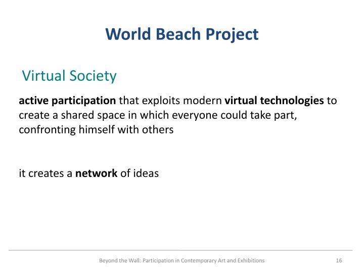 World Beach Project