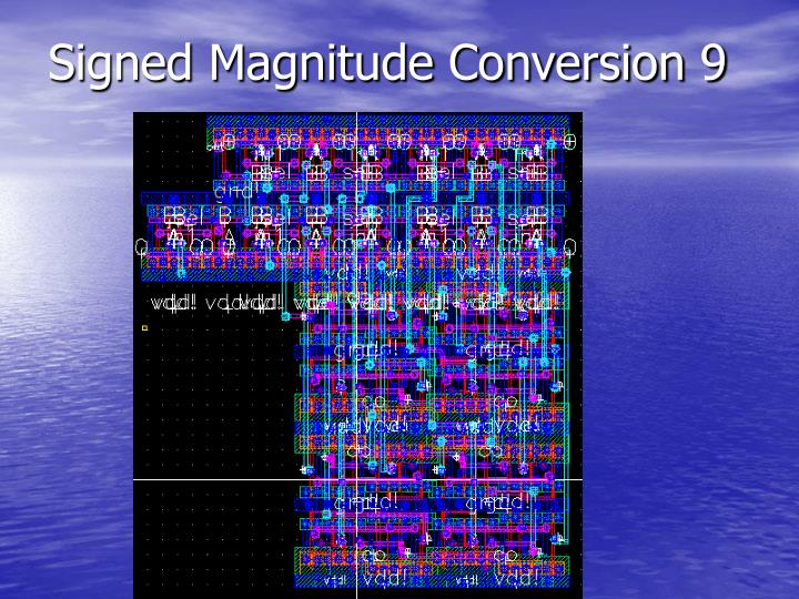 Signed Magnitude Conversion 9
