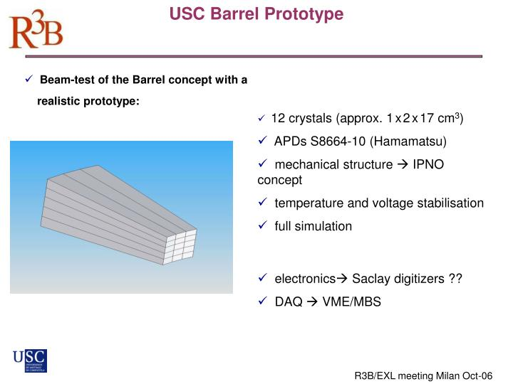 USC Barrel Prototype