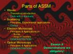 parts of assm