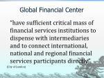 global financial center