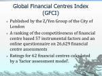 global financial centres index gfci