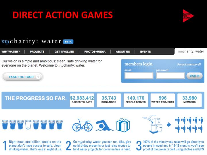 DIRECT ACTION GAMES