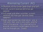 alternating current ac
