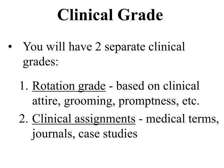 Clinical Grade