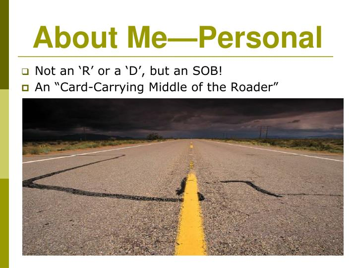 About Me—Personal