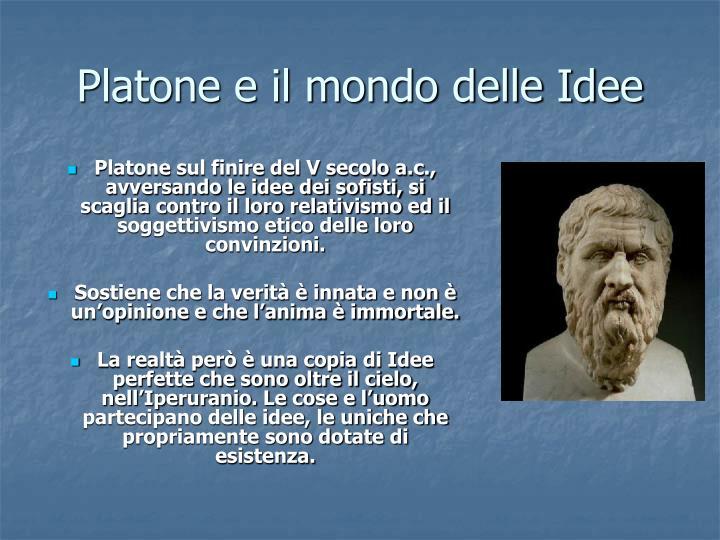 Platone e il mondo delle Idee