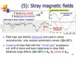 5 stray magnetic fields