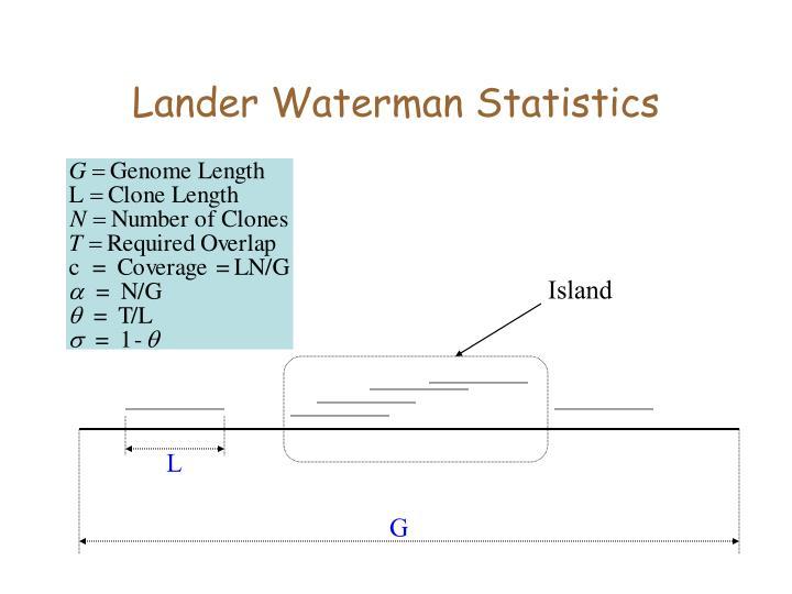 Lander Waterman Statistics