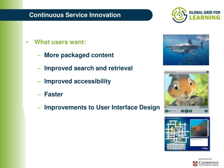 Continuous Service Innovation