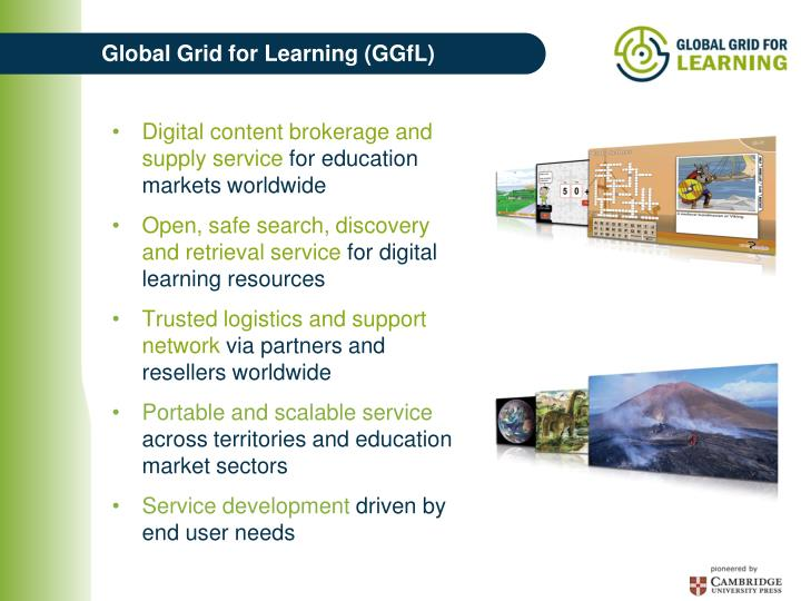 Global Grid for Learning (GGfL)