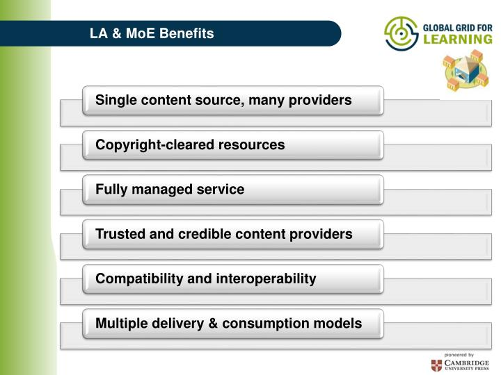 LA & MoE Benefits