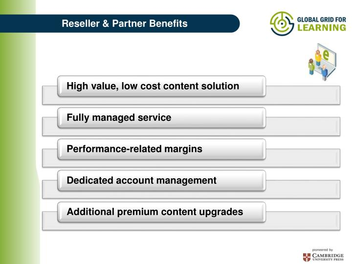 Reseller & Partner Benefits