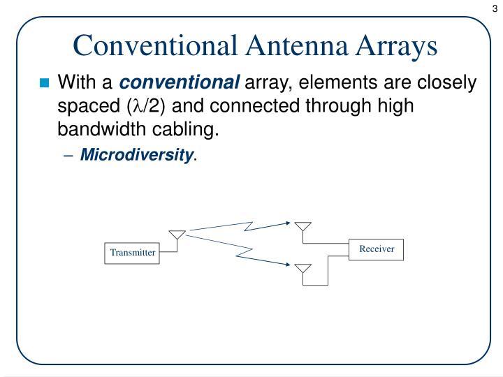 Conventional Antenna Arrays