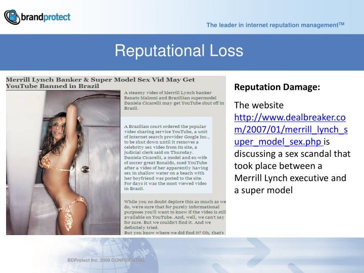 Reputational Loss