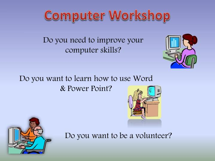 ppt come and learn more about computers powerpoint