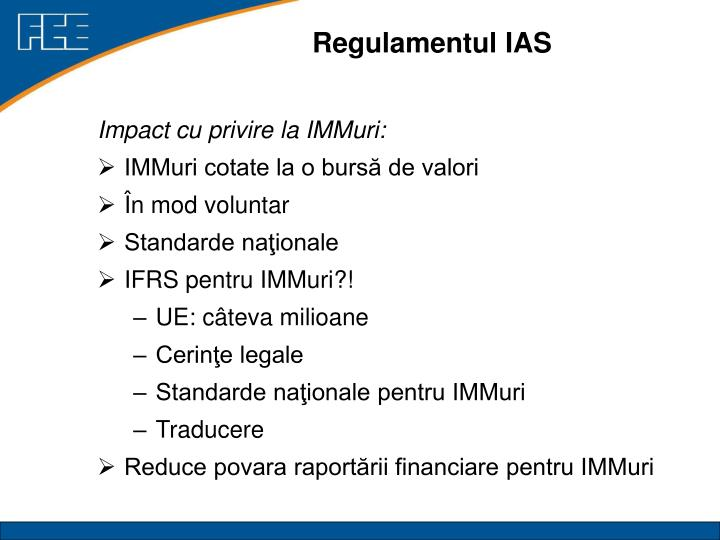 Regulamentul IAS