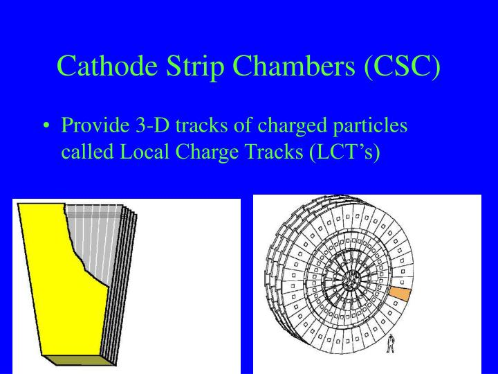 Cathode Strip Chambers (CSC)