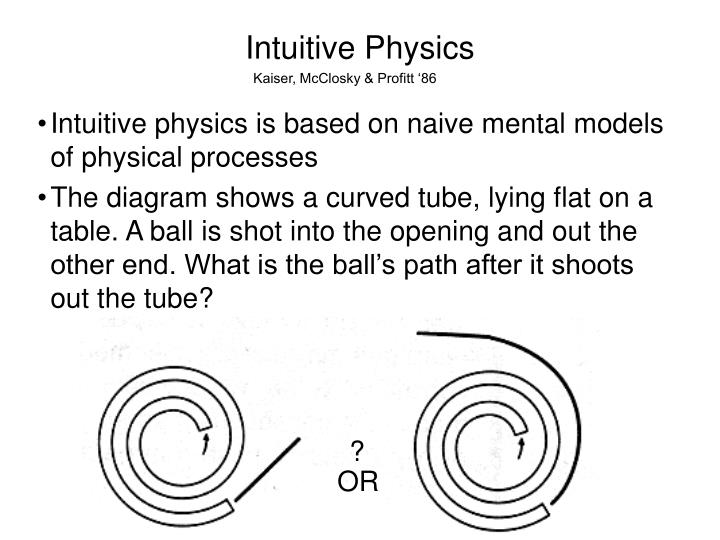 Intuitive Physics