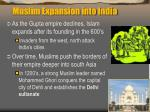 muslim expansion into india1