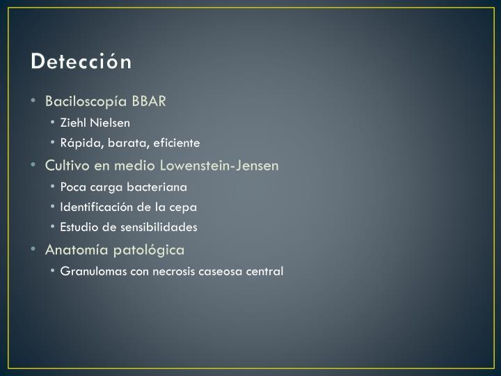 Detección