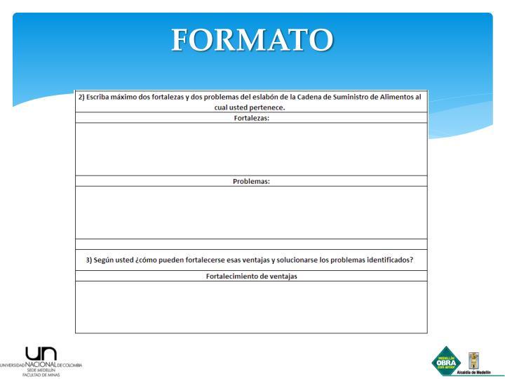 FORMATO