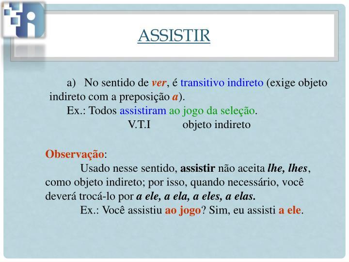 ASSISTIR