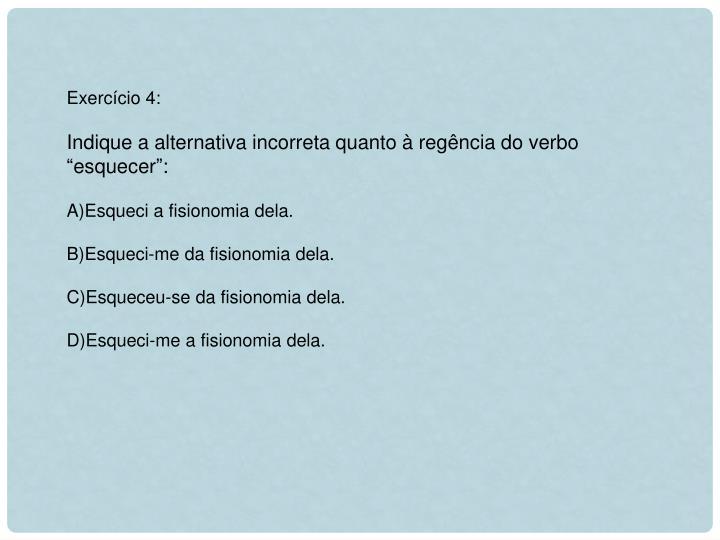 Exercício 4:
