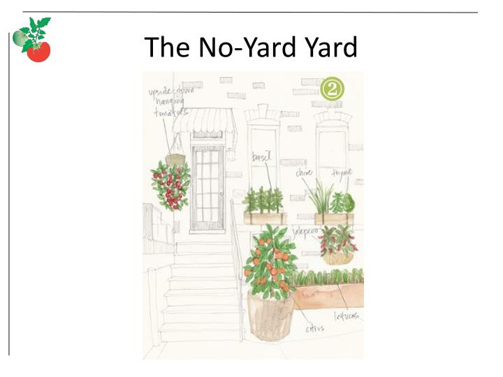 The No-Yard Yard