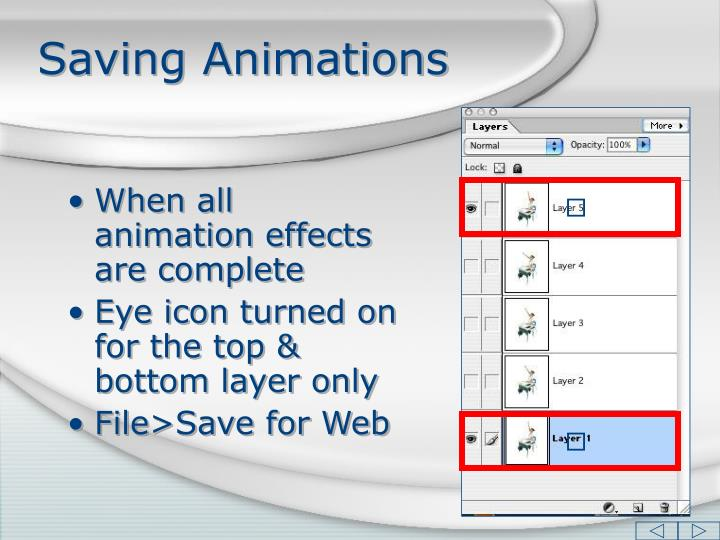 Saving Animations