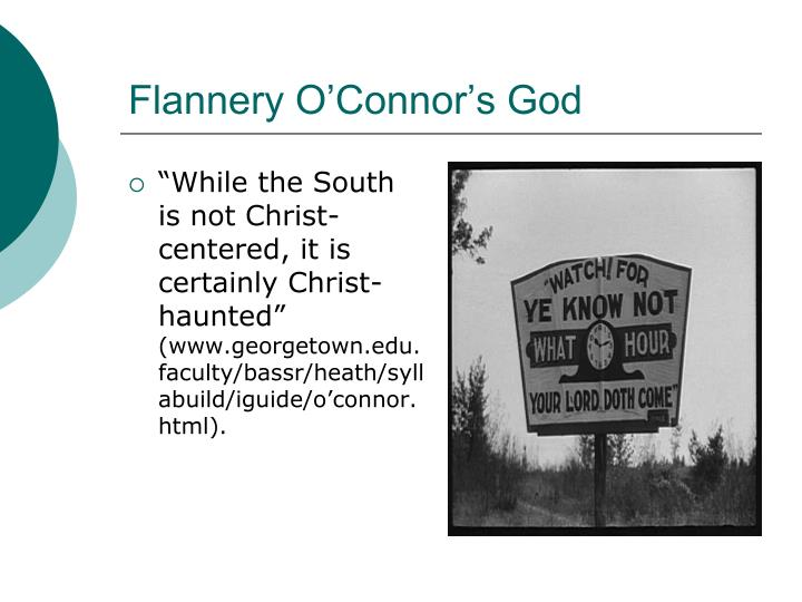Flannery O'Connor's God