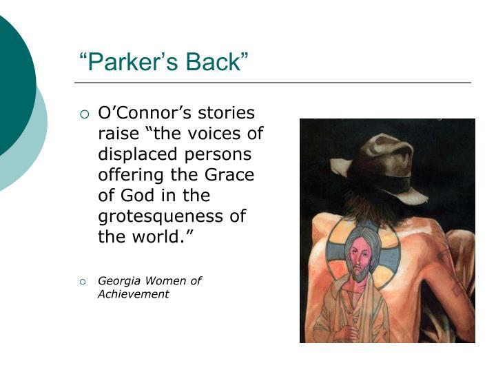 """""""Parker's Back"""""""