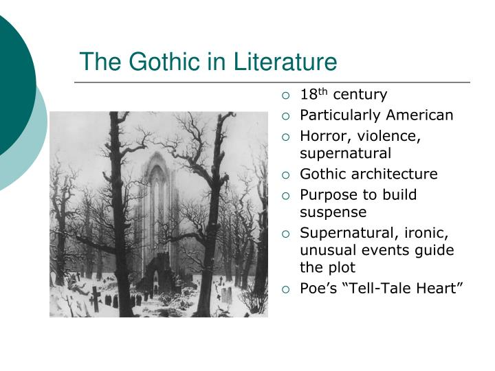 The Gothic in Literature