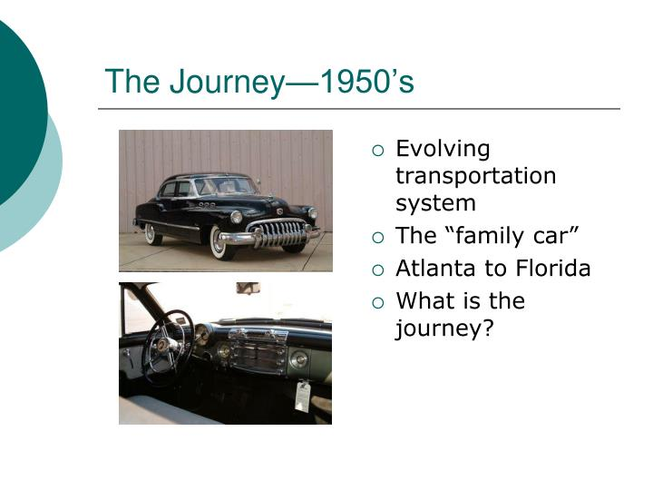 The Journey—1950's