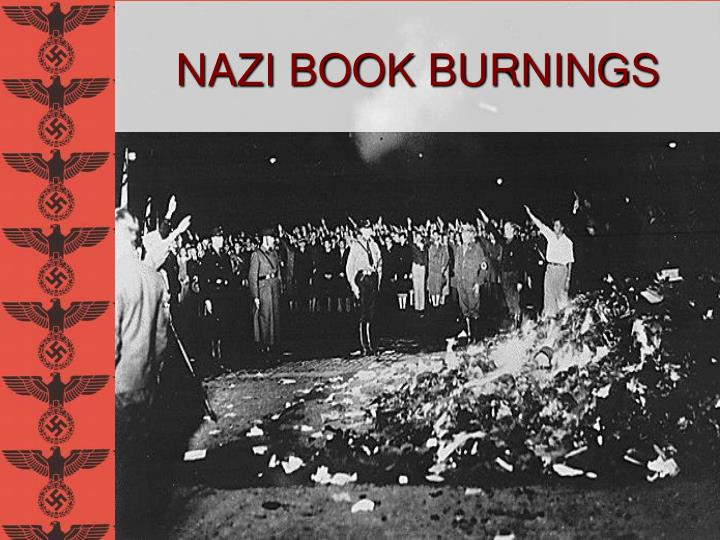 NAZI BOOK BURNINGS