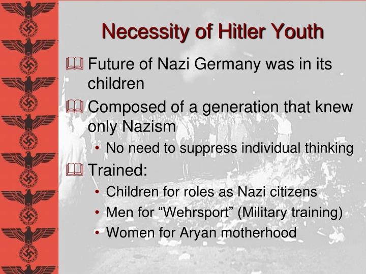 Necessity of Hitler Youth
