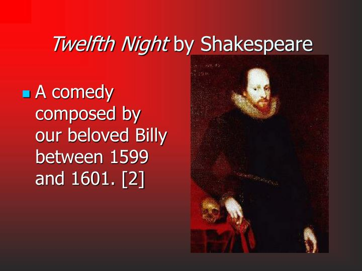 Twelfth night by shakespeare