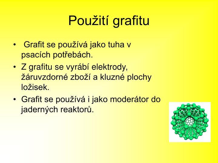 Použití grafitu