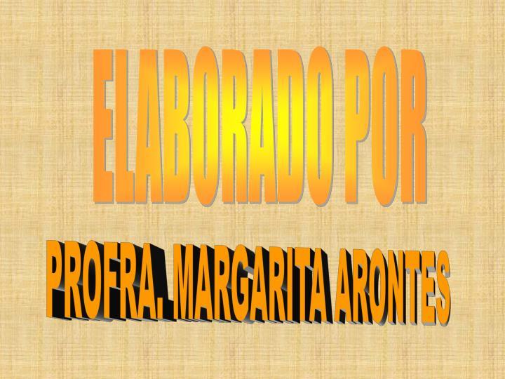 ELABORADO POR
