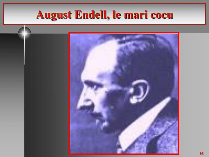 August Endell, le mari cocu