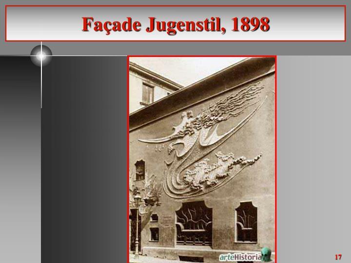 Façade Jugenstil, 1898