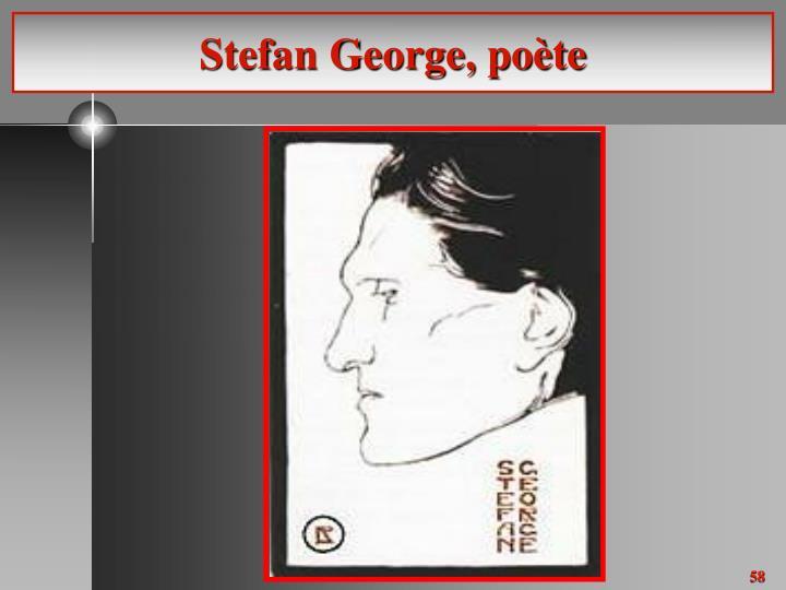 Stefan George, poète