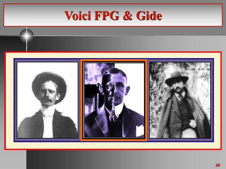 Voici FPG & Gide