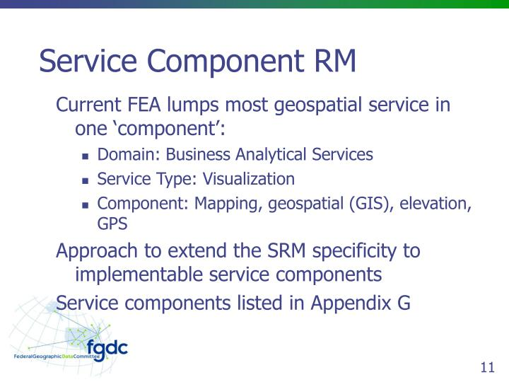 Service Component RM