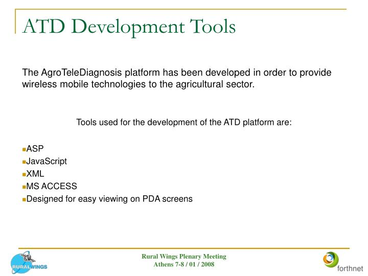 Atd development tools