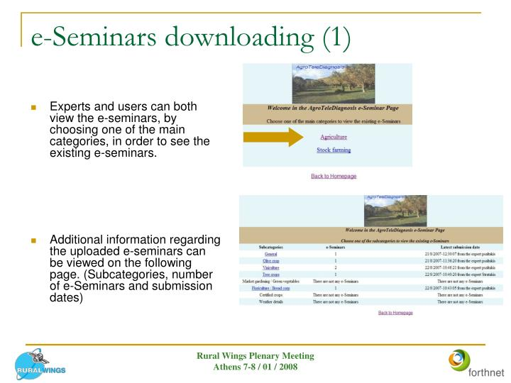 e-Seminars downloading (1)