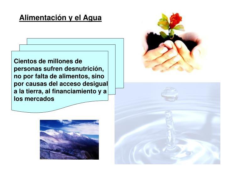 Alimentación y el Agua